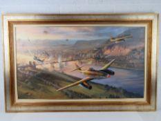 Oil on canvas, Nicholas Trudgian,