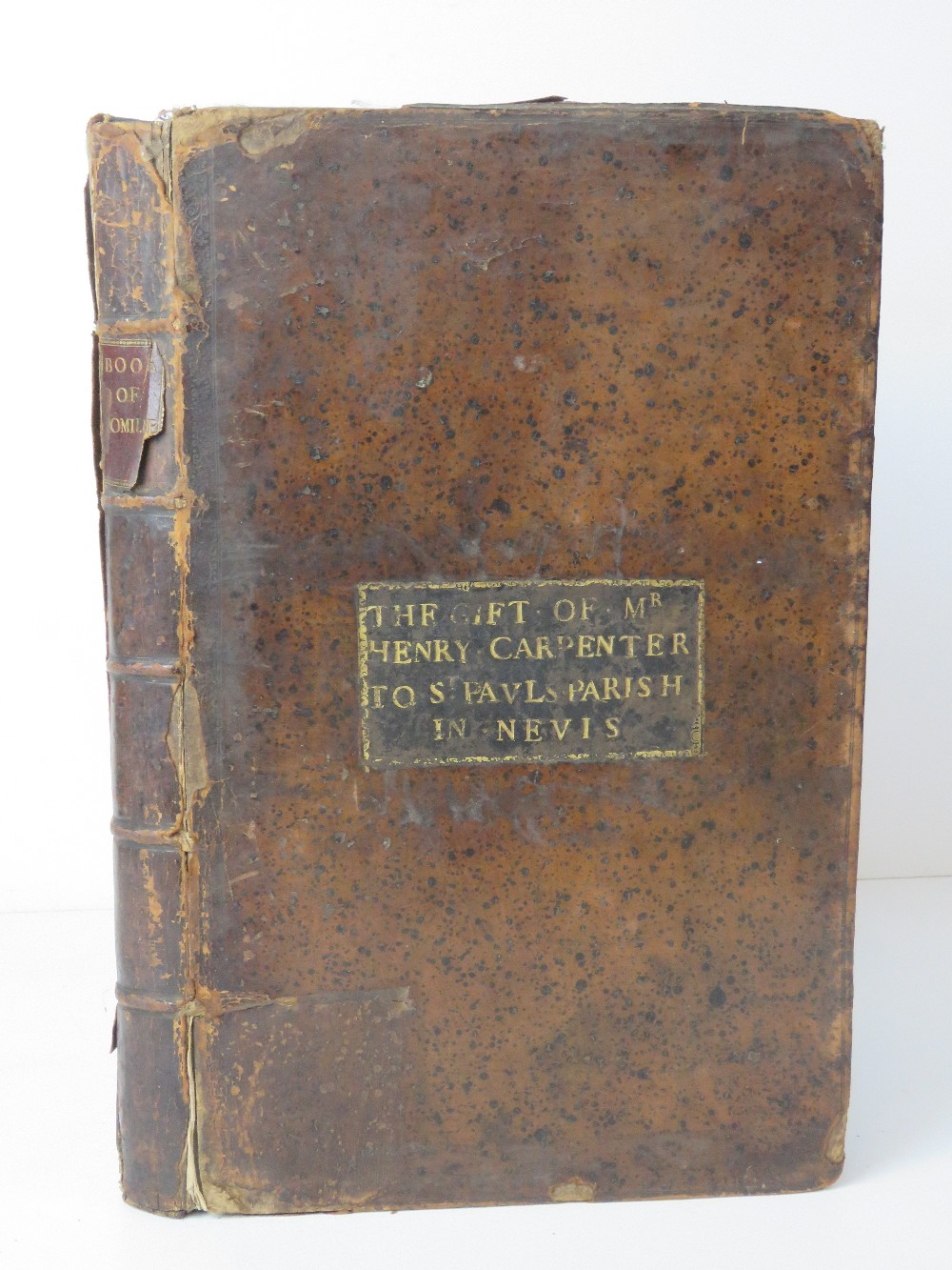 Book; Book of Homilies, certain sermons