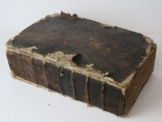 Book; a 17th century edition of the King