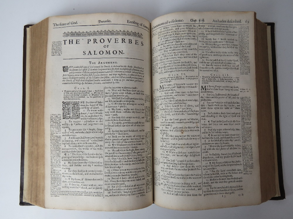 Book; The Holy Bible. The Geneva 'Breech - Image 4 of 4