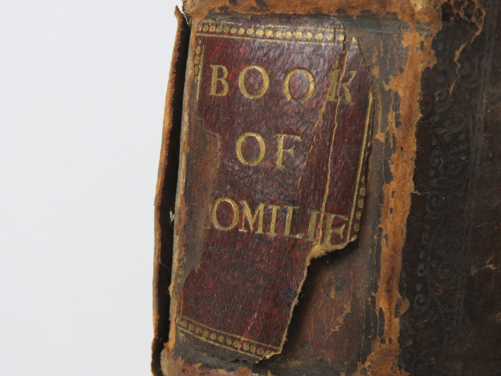 Book; Book of Homilies, certain sermons - Image 2 of 5