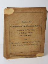 Book; a facsimile edition of the book of