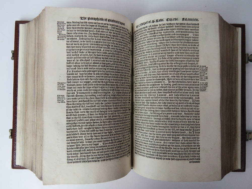 Book; The Paraphrase of Erasmus Upon the - Image 3 of 5