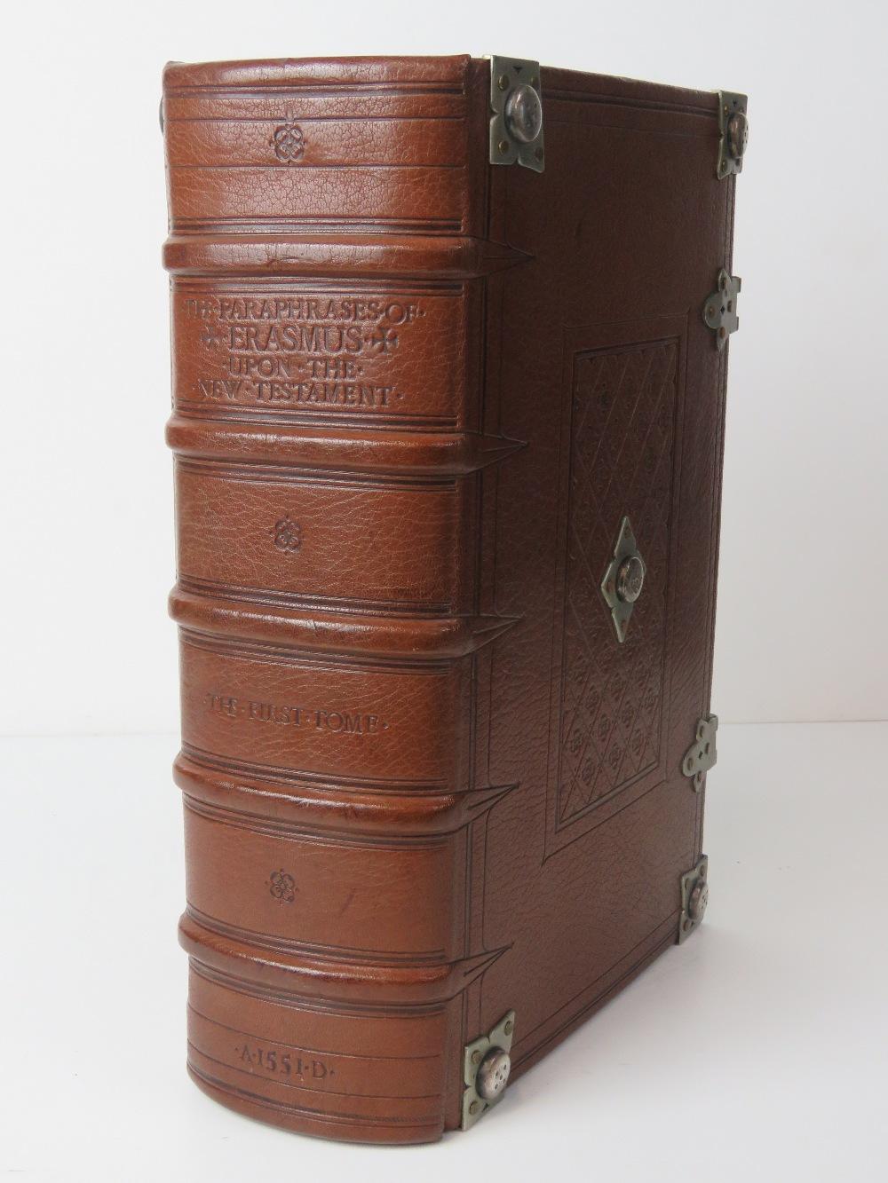 Book; The Paraphrase of Erasmus Upon the