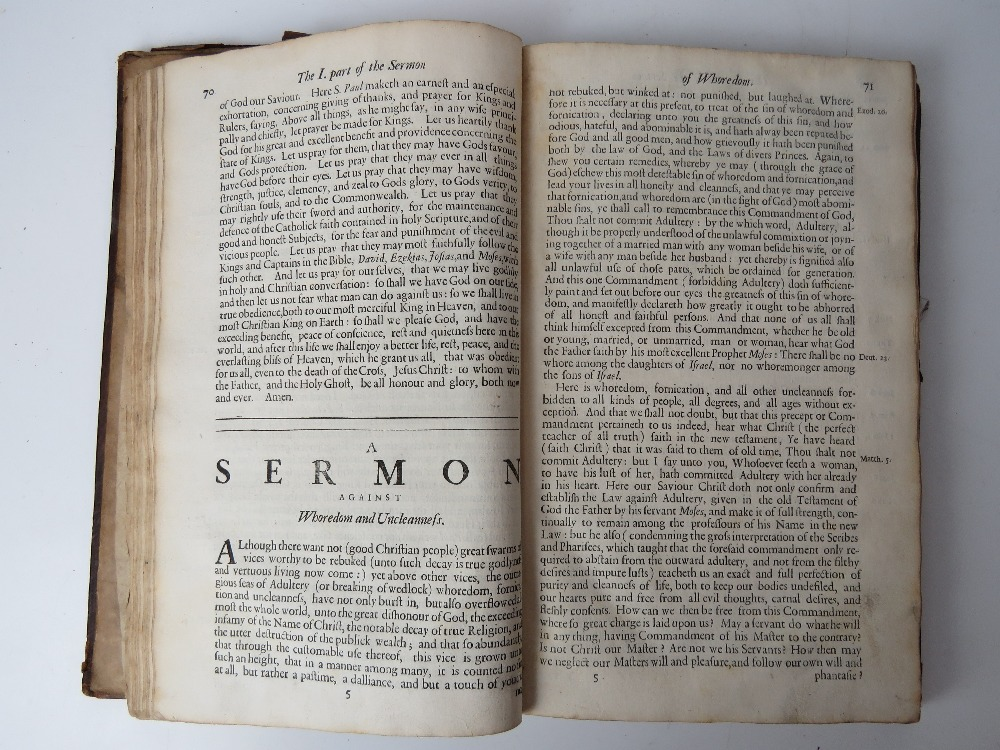 Book; Book of Homilies, certain sermons - Image 4 of 5