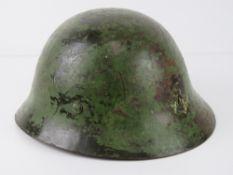 WWII Japanese Pacific Marine helmet , ha