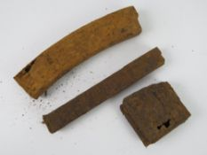 Three relic WWII German magazines being