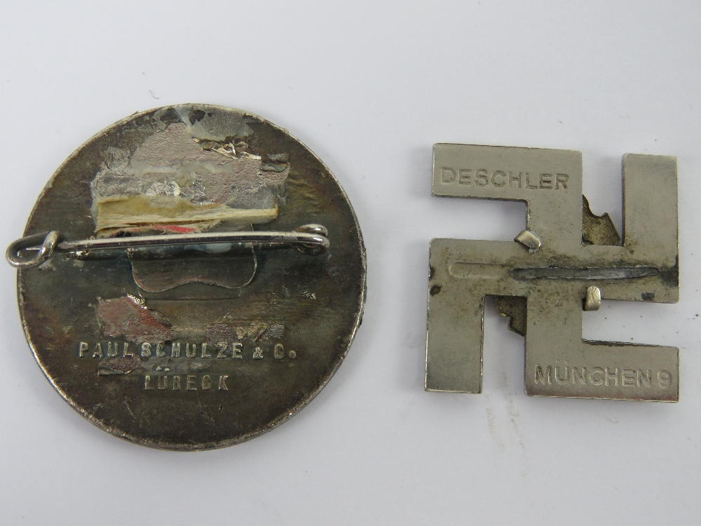 A quantity of assorted WWII German day badges including; 1944 Warschau, 1936 XI. - Image 5 of 7