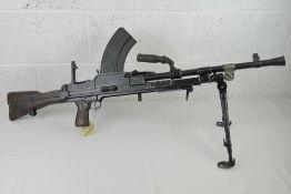 A deactivated Bren MKIII .303 light machine gun.