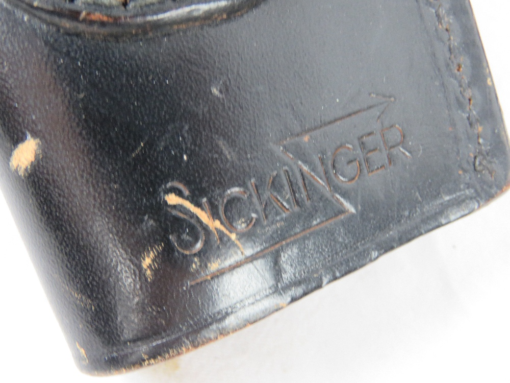 A quantity of seven holsters including a Broomhandle mauser, a colt pythan, s&w, - Image 3 of 4