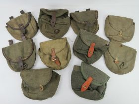 A WWII PPSH 41 magazine pouch.