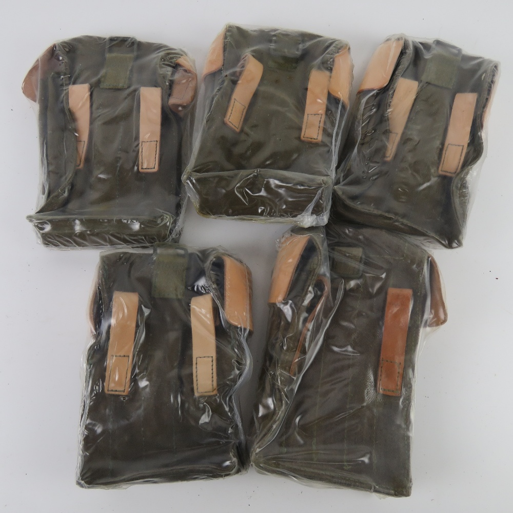Five 'as new' AK pouches. - Image 2 of 2