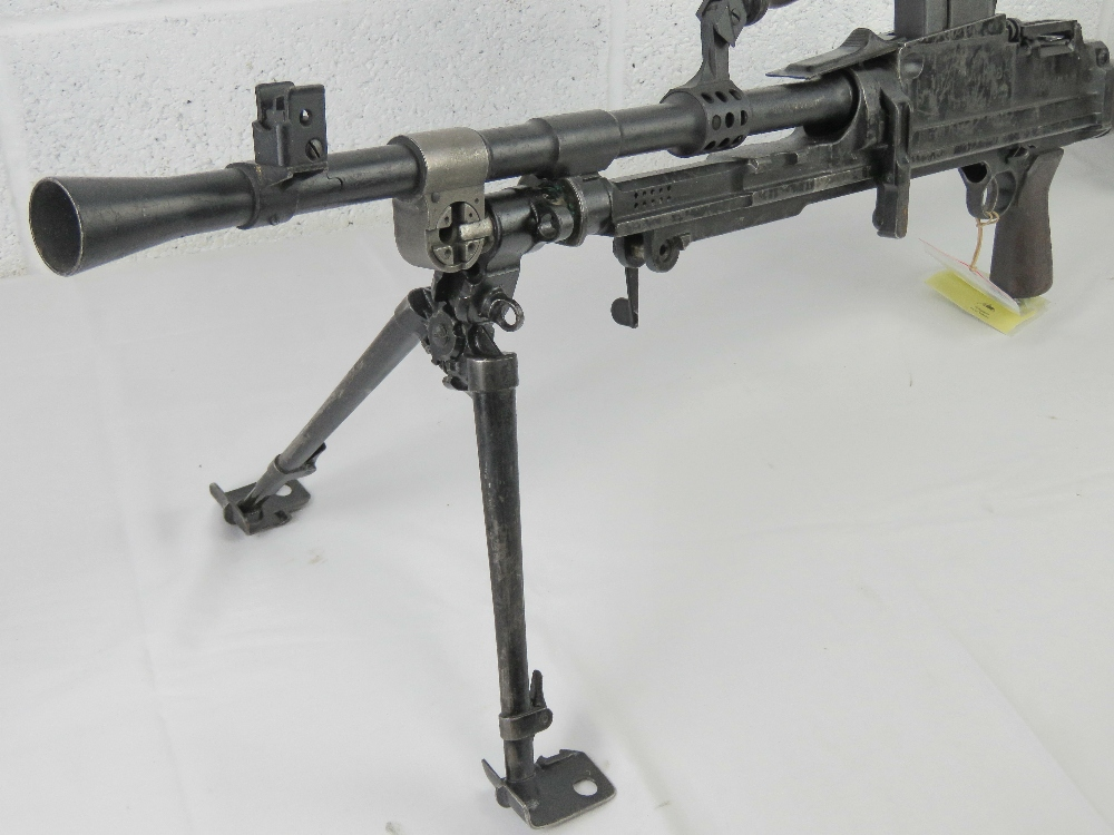 A deactivated Bren MKIII .303 light machine gun. - Image 7 of 9