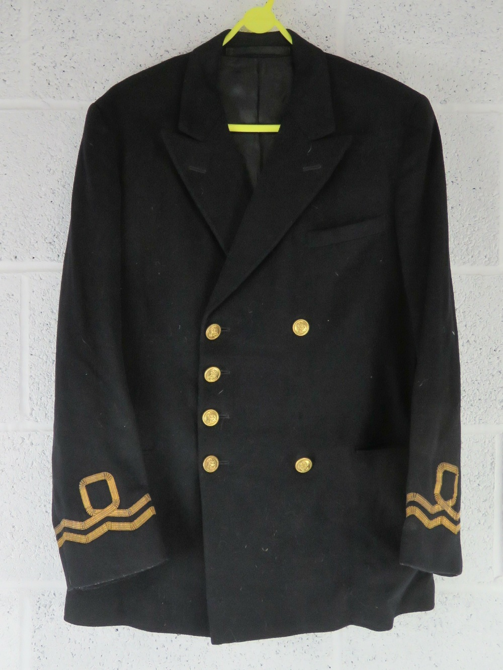A quantity of US Navy uniform including tunic, sailors top with neck tie, shirt and trousers. - Image 5 of 7
