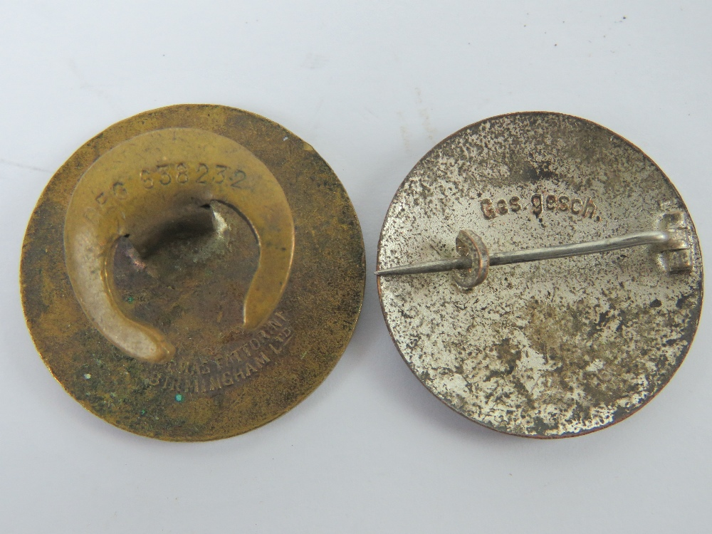 A quantity of assorted WWII German day badges including; 1944 Warschau, 1936 XI. - Image 6 of 7