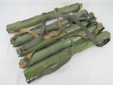 Five MG53 spare barrel cases with carry straps.