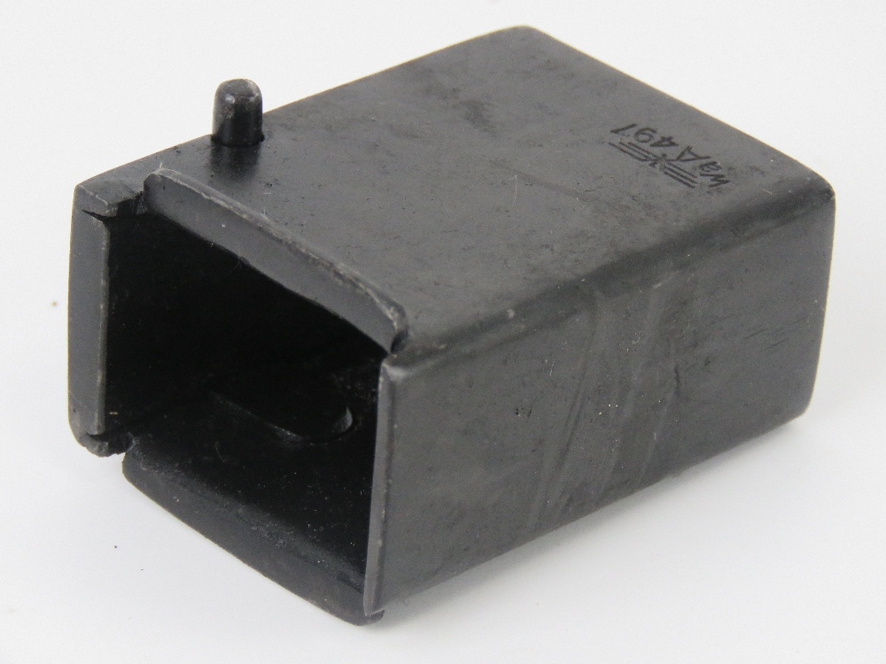 A German WWII MP40 magazine adapter to convert PPSH 41 Russian SMG to accept MP40 Magazines. - Image 3 of 4
