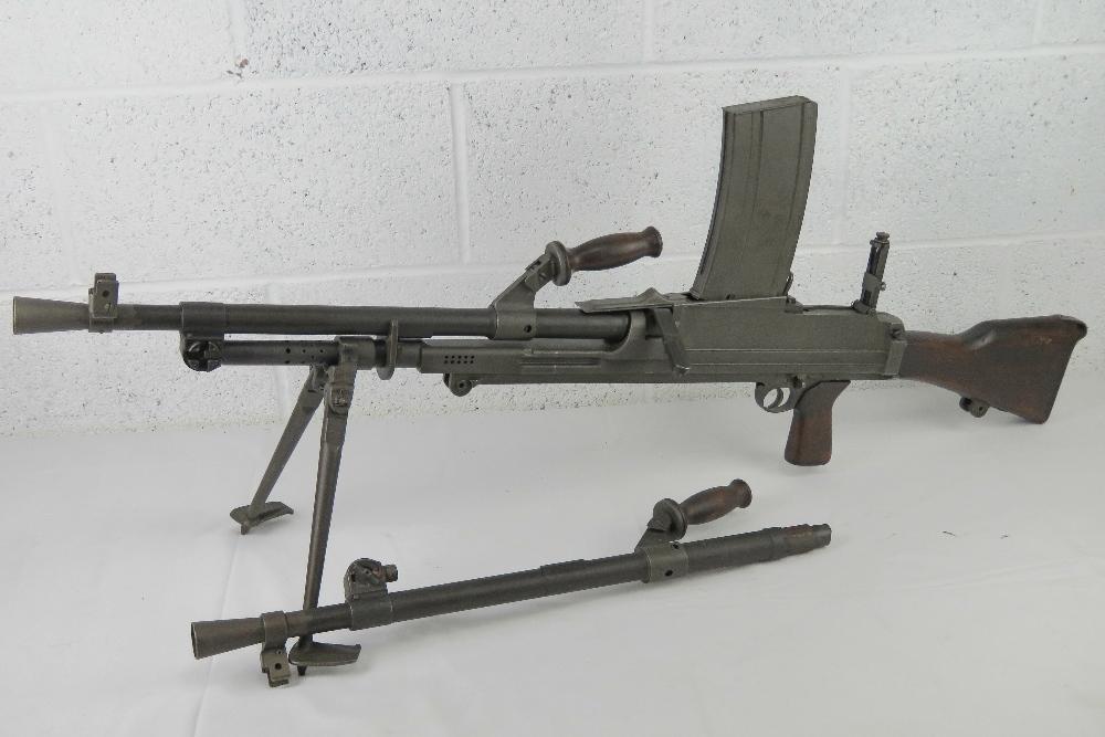 A deactivated Italian Breda Bren . - Image 9 of 14