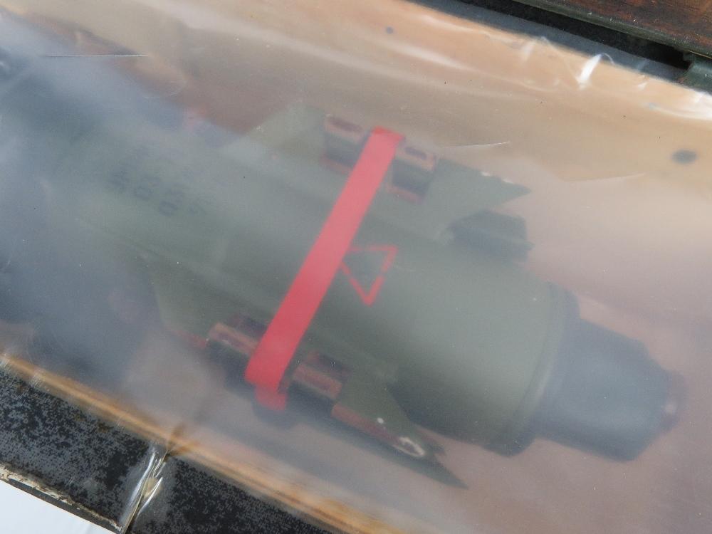 A inert Soviet 9M14 Malyutka missile in transit case. - Image 5 of 12