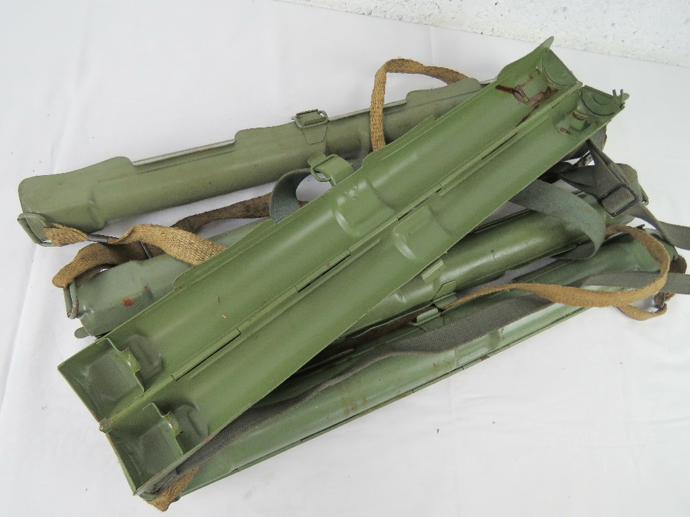 Five MG53 spare barrel cases with carry straps. - Image 2 of 3