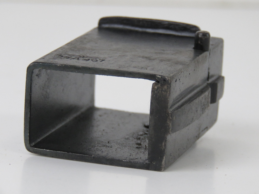 A German WWII MP40 magazine adapter to convert PPSH 41 Russian SMG to accept MP40 Magazines. - Image 4 of 4