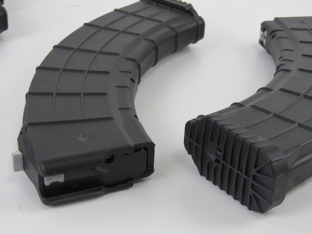 Four AK / RPK Waffle 40rd Polymer magazine, un-issued. - Image 2 of 2