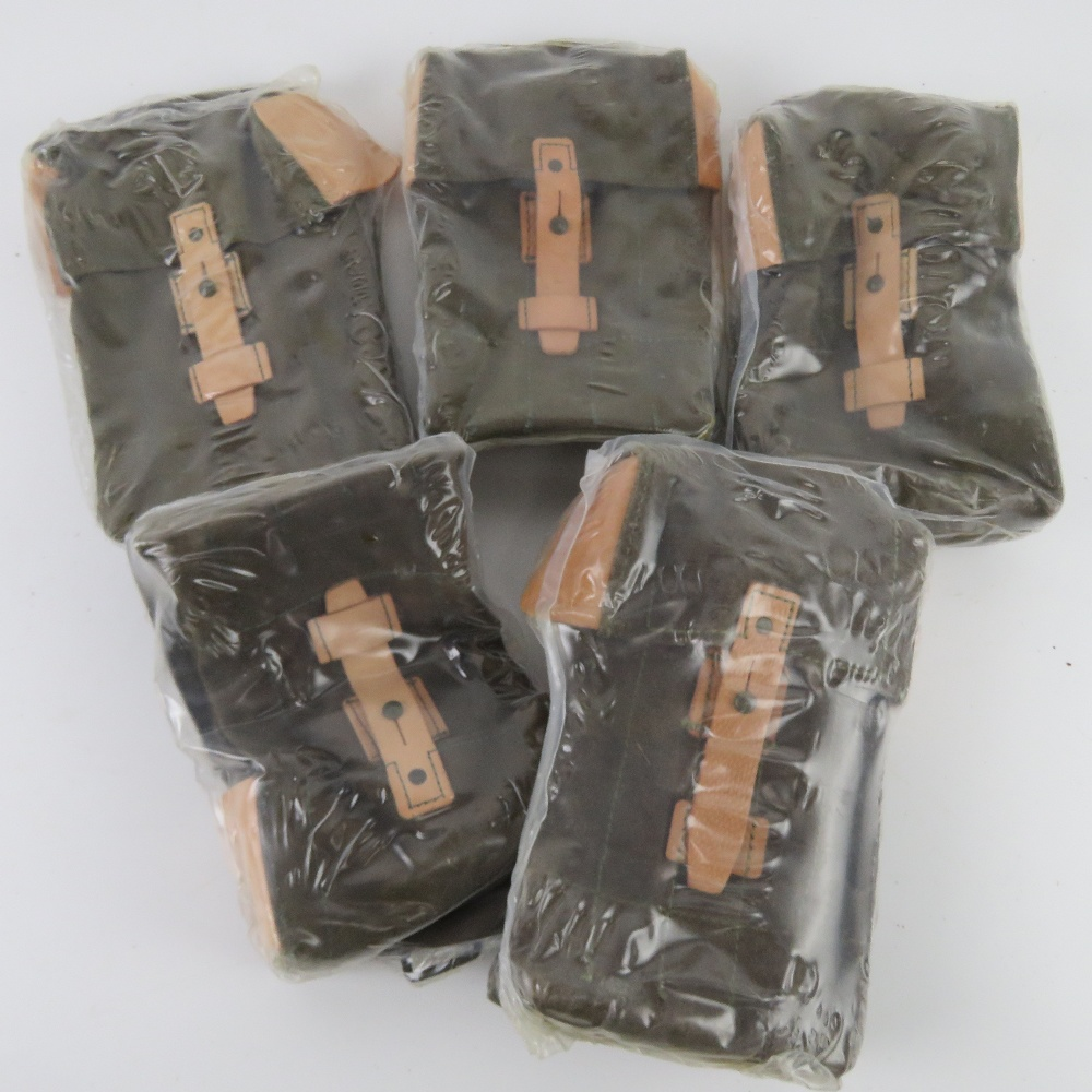 Five 'as new' AK pouches.
