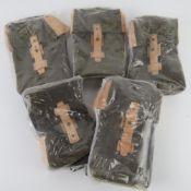 Five 'as new' AK pouches.