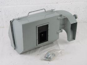 A British Forces L7 GPMG spent cartridge catcher.