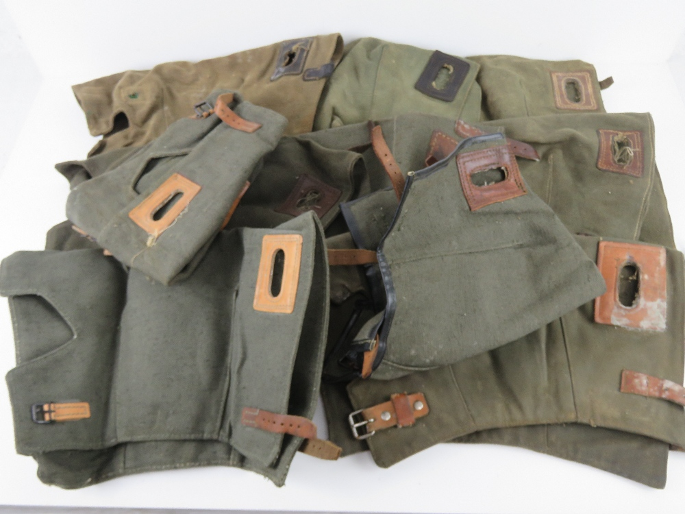 A quantity of ten WWII German MG42 breach covers.