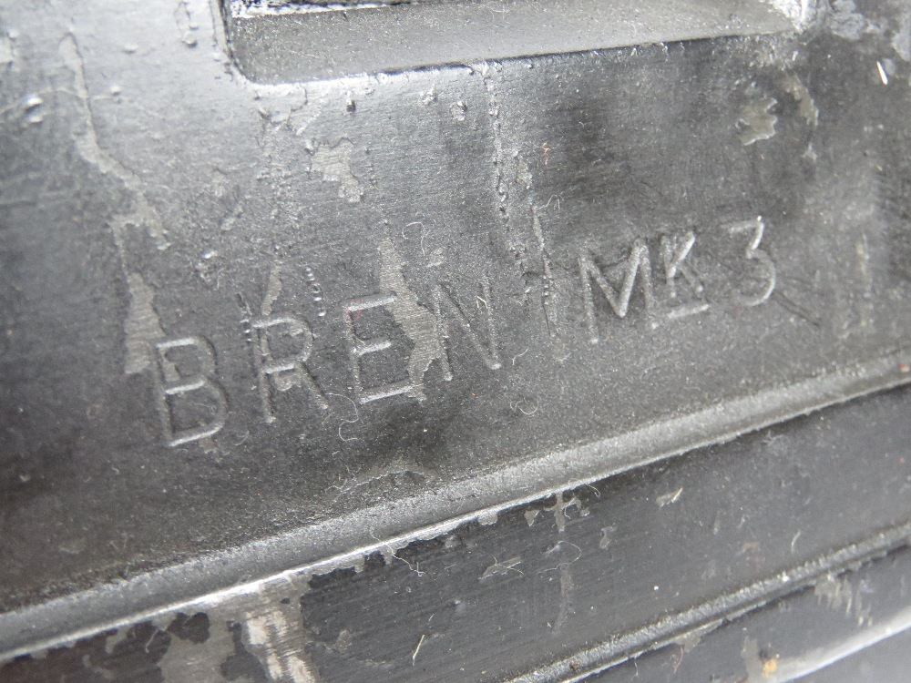A deactivated Bren MKIII .303 light machine gun. - Image 3 of 9