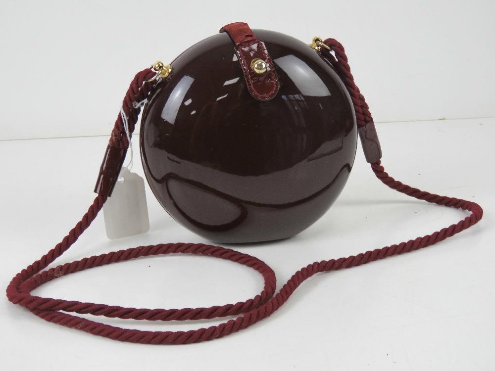 A c1960s Italian pop art style purse in