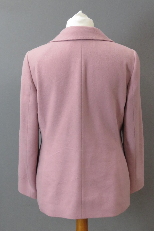 A blush pink jacket, 89% wool & 8% cashm - Image 2 of 5