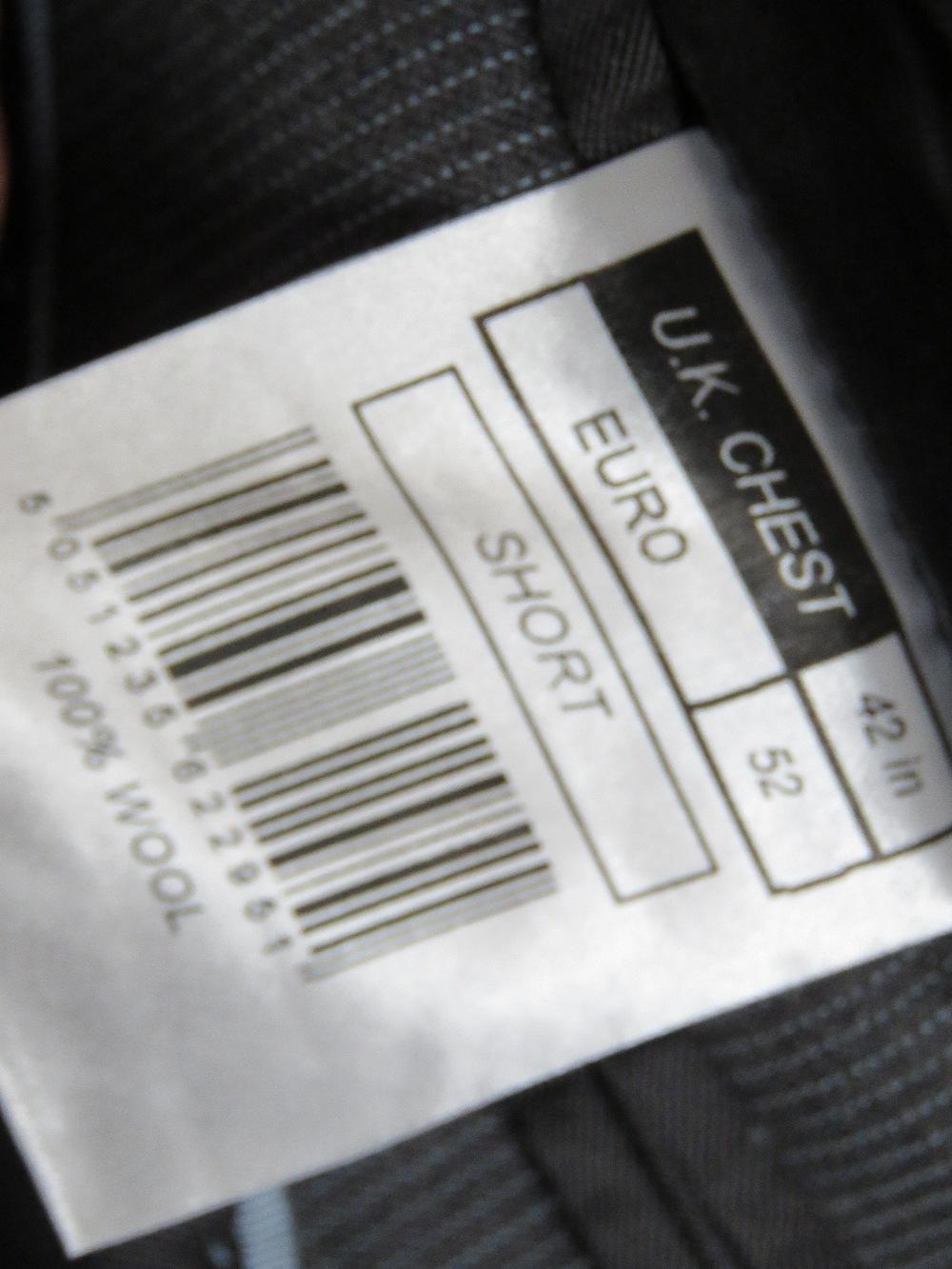 "Ben Sherman men's suit jacket, 42"" Short - Image 3 of 4"