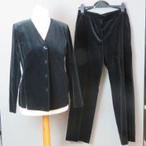 A Finnish made ladies velvet jacket and