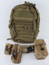 A British Military desert webbing belt w