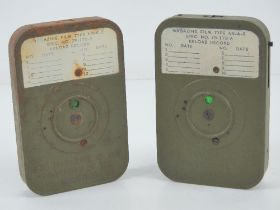 Two US WWII camera undeveloped films, made in the USA by Eastman Kodak.
