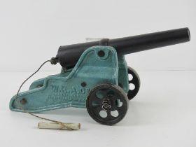 A deactivated Winchester 10 bore signal cannon. W.R.A.