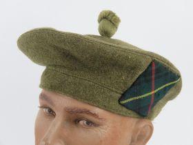 A British Military Scottish Tam Oshanter hat.
