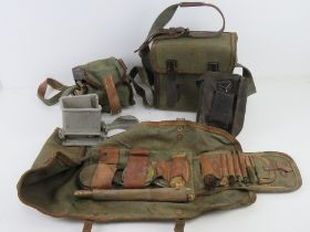A ZB26/30 gunners kit, magazine loader in magazine loader pouch,