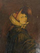 Emily Brontë. The lost 'Bonnet Portrait' rediscovered.