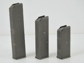 Three Beretta 38 magazines being 10rd, 15rd and 20rd.