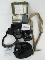 A US Vietnam first aid kit having medical accessories.