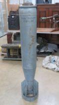 An inert Russian 250-120 Bomb, measuring 150cm in length.