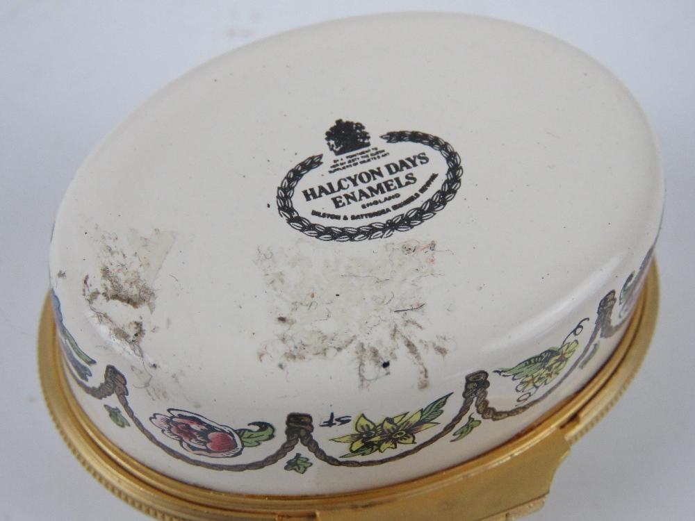 A Halcyon Days enamel trinket box '1981 A Year to Remember', - Image 5 of 7
