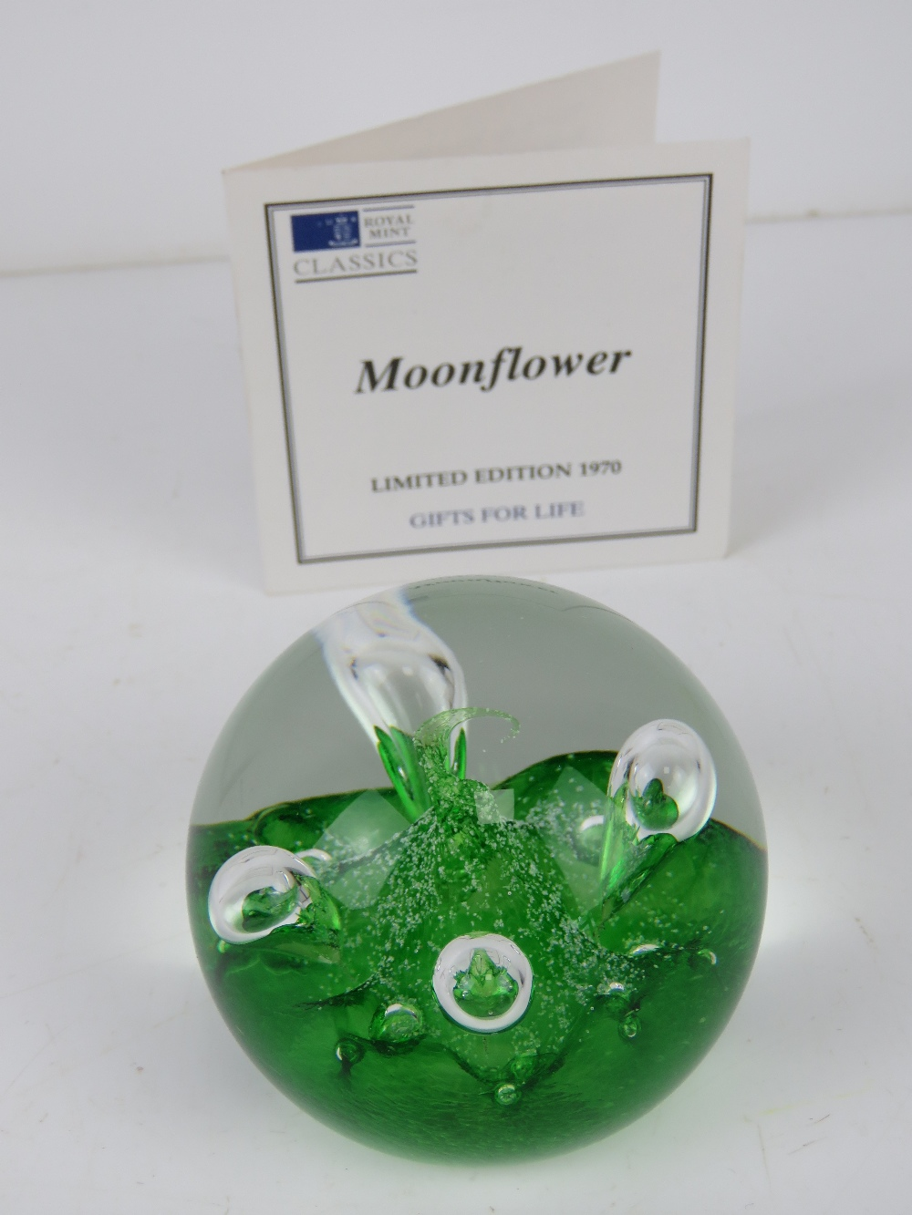 A set of six Royal Mint Classics limited edition Caithness glass paperweights, - Image 4 of 9