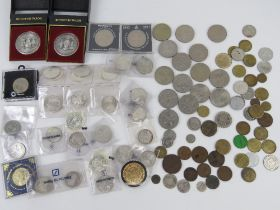 A quantity of commemorative coins and medallions inc Munich Olympics 1972,