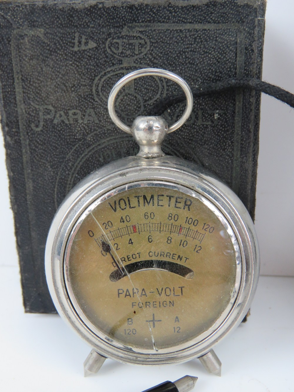 A Para-Volt voltmeter in original box. T - Image 3 of 5