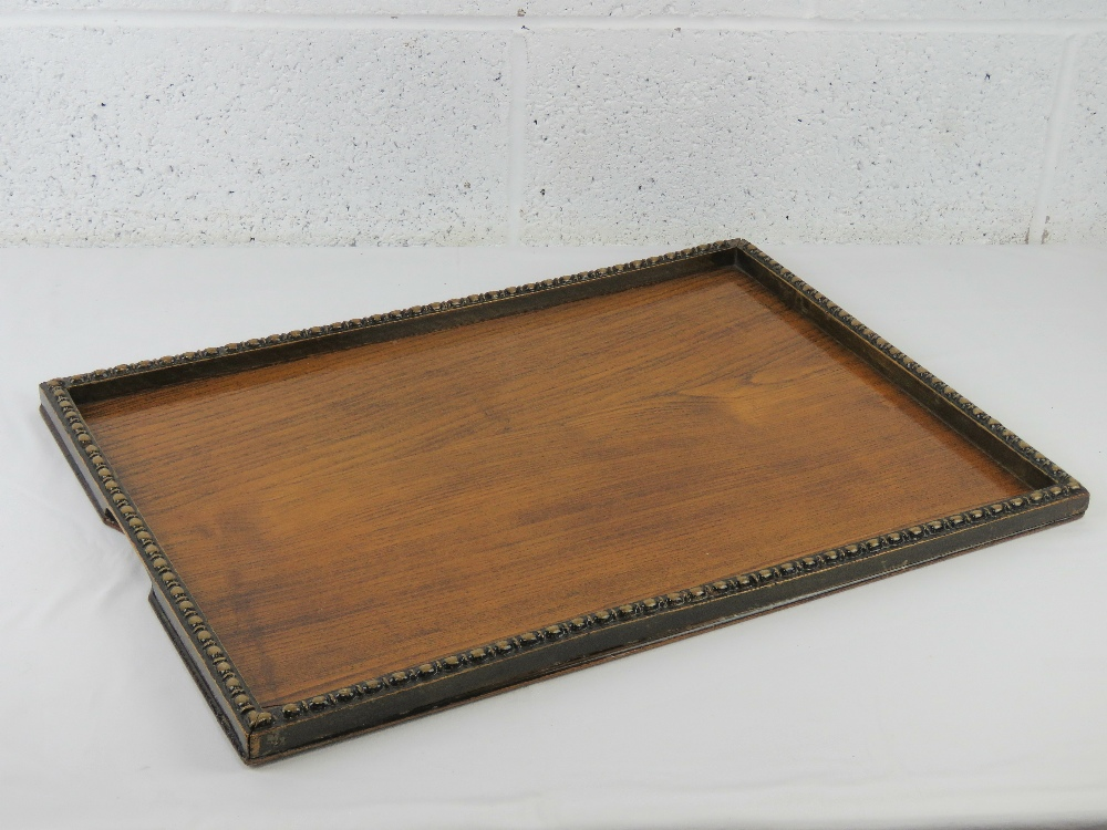 A good oak tray c1930s, measuring 58 x 4 - Image 3 of 3