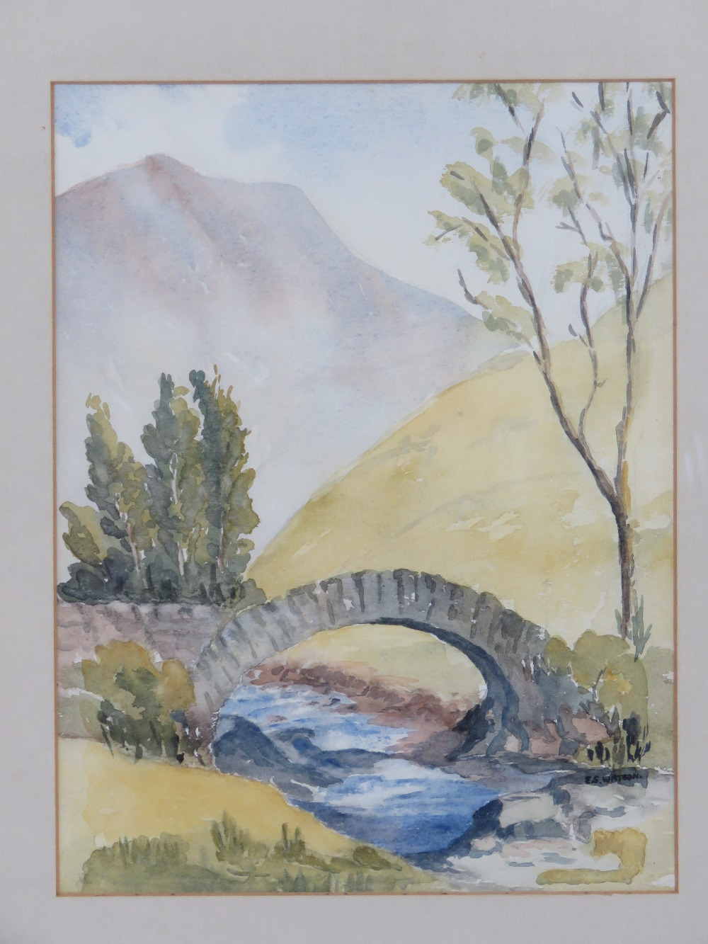 Watercolour by Eve Watson 'Pack horse br - Image 2 of 4